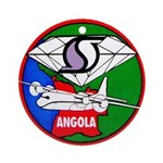 Southern Air Transport Angola Ornament (Round)
