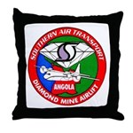 Southern Air Transport Angola Throw Pillow