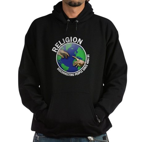 Religion diconnecting people Hoodie (dark)