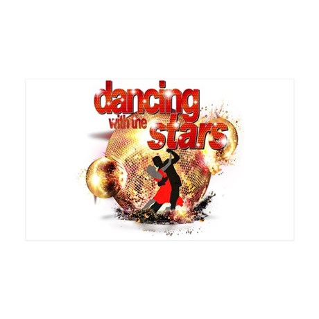 Dancing with the Stars Disco 38.5 x 24.5 Wall Peel