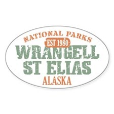 Wrangell St Elias Park Decal