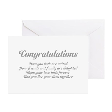 Congratulations gifts gt congratulations greeting cards gt wedding