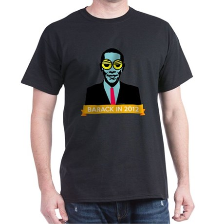 Pop Art Obama Dark T-Shirt