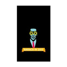 Pop Art Obama Decal