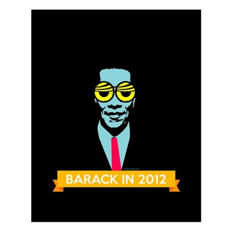Pop Art Obama Small Poster