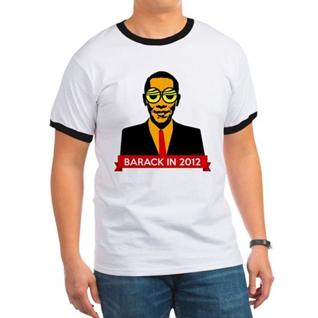 Pop Art Obama Ringer T