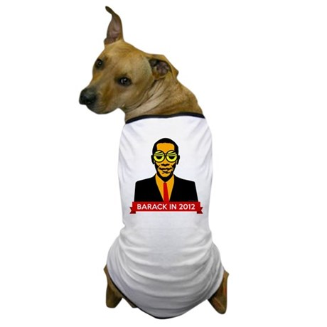 Pop Art Obama Dog T-Shirt