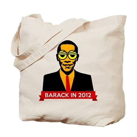 Pop Art Obama Tote Bag