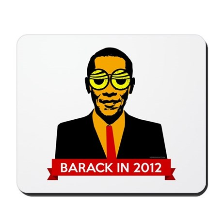 Pop Art Obama Mousepad