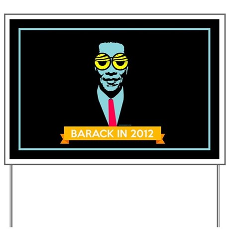 Pop Art Obama Yard Sign