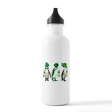 Irish penguins Water Bottle