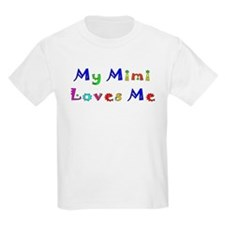 My Mimi Loves Me! (Multi) Kids T-Shirt