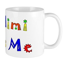 My Mimi Loves Me! (Multi) Small Mugs