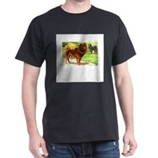 Chow Chows Black T-Shirt