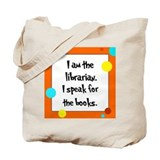 Librarian Seuss Lorax Tote Bag