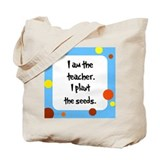 Teacher Seuss Lorax inspired Tote Bag