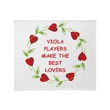 viola Throw Blanket