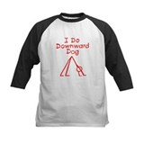 Red Downward Dog Tee