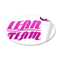 Official Lil Rue Lean Team 22x14 Oval Wall Peel