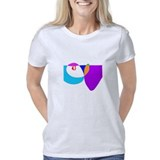 Wine bottle t-shirts Drinking Glass