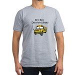 My Bus Driving Shirt Men's Fitted T-Shirt (dark)
