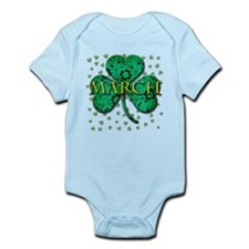 March Infant Bodysuit