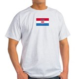 Croatia Ash Grey T-Shirt
