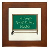 World's Coolest Teacher Framed Tile