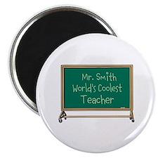 World's Coolest Teacher Magnet
