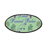 Ferret Funeral Parlor Patches