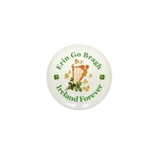 Erin Go Bragh Mini Button (100 pack)