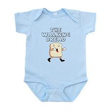 The Walking Bread Infant Bodysuit