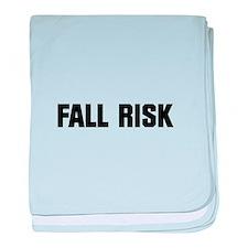 Fall Risk baby blanket
