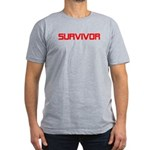 Survivor Men's Fitted T-Shirt (dark)