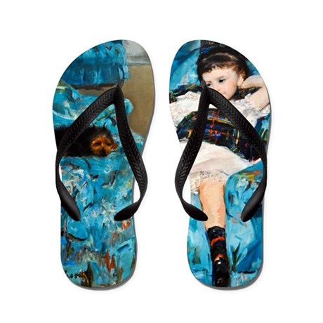 Cassatt - Blue Chair Flip Flops