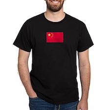 China Black T-Shirt