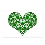 Shamrock Heart Postcards (Package of 8)