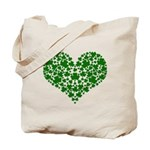 Shamrock Heart Tote Bag
