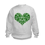 Shamrock Heart Kids Sweatshirt