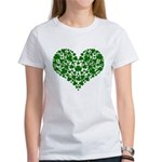 Shamrock Heart Women's T-Shirt