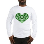 Shamrock Heart Long Sleeve T-Shirt