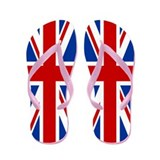 Union Jack Flip Flops
