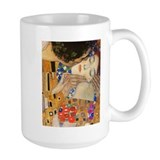 Klimt - The Kiss Ceramic Mugs