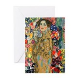 Klimt - Ria Munk Greeting Card