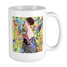 Klimt - Lady w/Fan Mug
