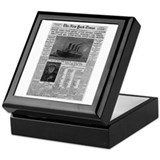 Milwaukee Sentinel Keepsake Box
