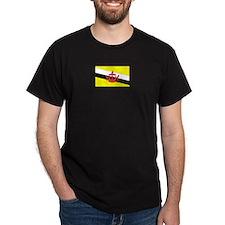 Brunei Black T-Shirt