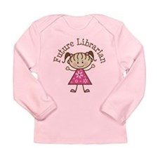 Future Librarian Long Sleeve Infant T-Shirt