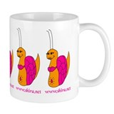 Belly Dancing Snail  Tasse