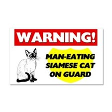 Siamese Cat Gifts Car Magnet 20 x 12